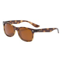Ray-ban New Wayfarer Junior Solglasögon Tortoise/Brown Classic 152/3