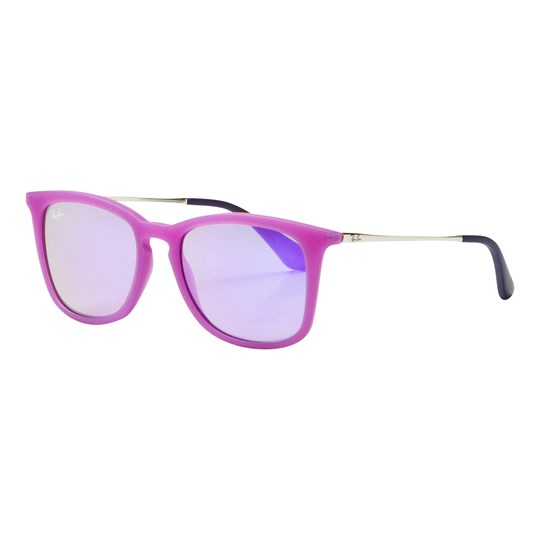 Ray-ban Junior RJ9063S Sunglasses Violet/Silver/Violet Mirror 70084V