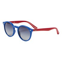 Ray-ban Ray-Ban Junior RJ9064S Solglasögon in Blue/Red/Blue Gradient 70204L