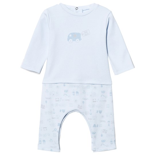 Absorba Mock Outfit All in One One-Piece Pale Blue 41