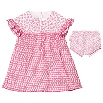 Absorba Fuchsia Floral Frill Dress 35