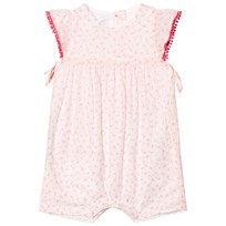 Absorba Light Pink Flower Print Romper 33