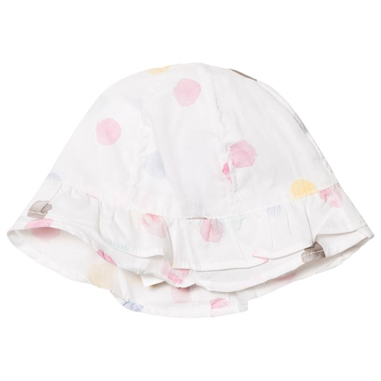 Absorba White Multi Spot Hat 32