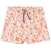 Tinycottons Enamel Shorts Pale Pink/Dark Peach Pink