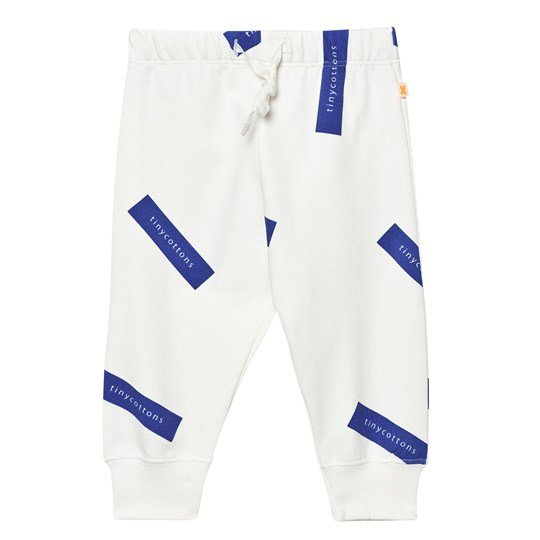 Tinycottons Tiny Logo Sweat Pants Off White/Blue White