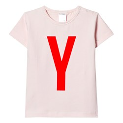 Tinycottons Y Gr Tee Pale Pink/Red