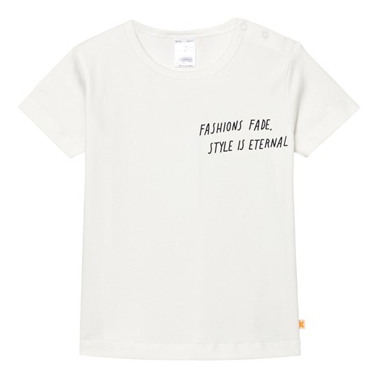 Tinycottons Style Is Eternal Gr Tee Off White/Dark Navy White
