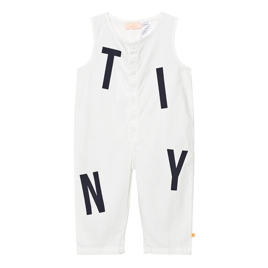 Tinycottons Tiny Jumpsuit Off White White