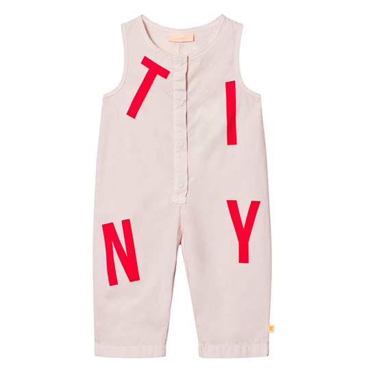Tinycottons Tiny Jumpsuit Pale Pink Pink