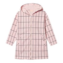 Tinycottons Big Grid Oversized Jacket Pale Pink/Dark Navy Pink