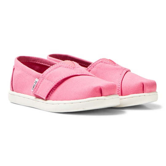 Toms Bubblegum Pink Canvas Tiny TOMS Classics BUBBLEGUM PINK CANVAS