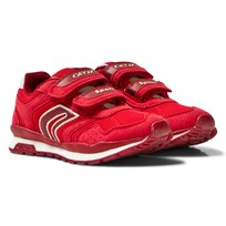 Geox Jr Pavel Sneaker Red C7000