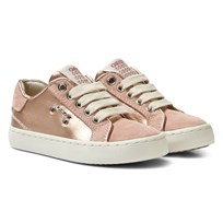 Geox Jr Kiwi Sneakers Dark Rose C8007