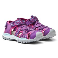 Geox Jr Borealis Water Safe Sandals Purple C8000