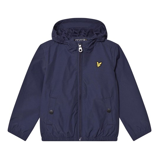 Lyle & Scott Deep Indigo Hooded Coat Deep Indigo