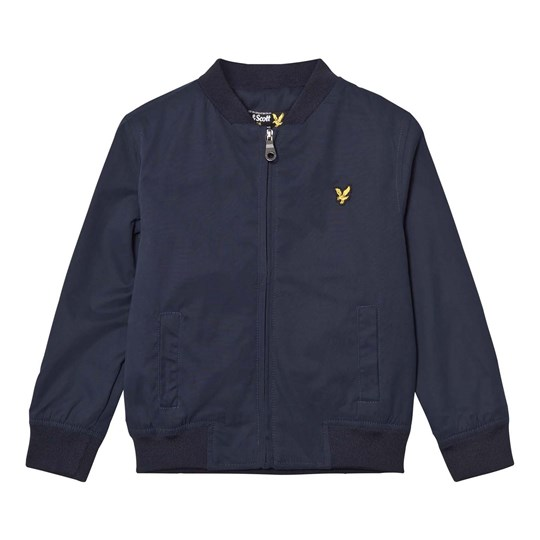 Lyle & Scott Deep Indigo Bomber Jacket Deep Indigo