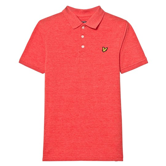 Lyle & Scott Flash Orange Marl Polo Flash orange Marl
