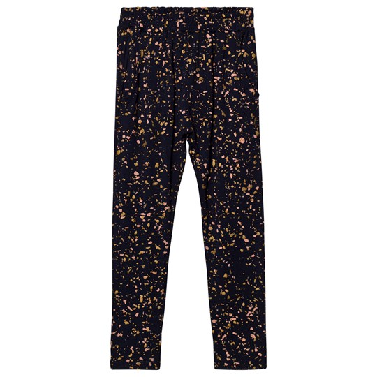 Soft Gallery Chantay Pants Salute Salute, AOP Terazzo Blue