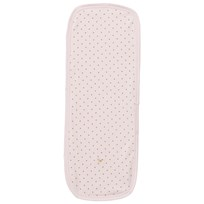 Livly Saturday Burp-blankie Baby Pink/gold Dots Baby Pink/gold Dots