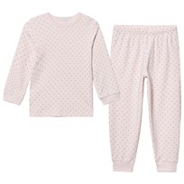 Livly 2 Piece Pajama Baby Pink/gold Baby Pink/gold