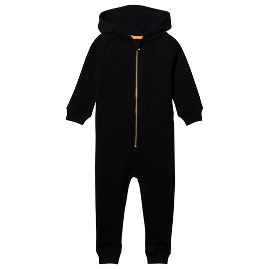 Filemon Kid Onesie Pug Black Black