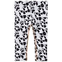 Filemon Kid Leggings Paw Star White Star White