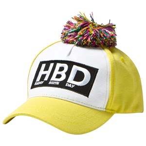 Image of The BRAND Cap Yellow S/M (1-4 år) (700952)