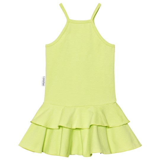 Gugguu Tricot Dress Lime Lime