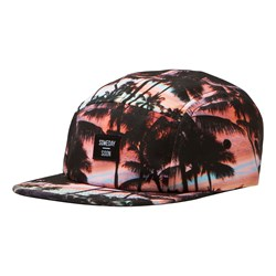 Someday Soon Playa 5 Panel Cap Sunset Print