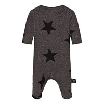 NUNUNU Star Footed Baby Body Charcoal Charcoal
