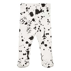 NUNUNU Splash Leggings med Fot Vit