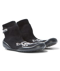 NUNUNU Skull Collegien Slippers Black Black
