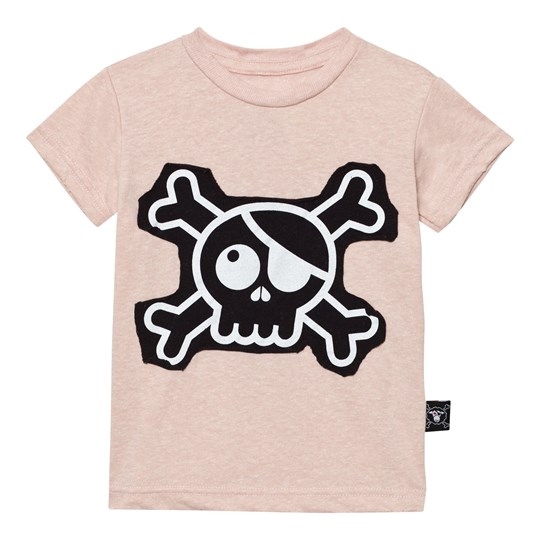 NUNUNU Skull Patch T-shirt Powder Pink Powder Pink