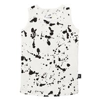 NUNUNU Splash Tank Top White White
