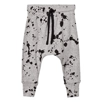 NUNUNU Splash Baggy Pants Heather Grey Grey