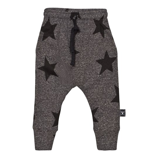 NUNUNU Star Baggy Pants Charcoal Charcoal