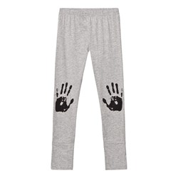 NUNUNU Knee Print Leggings Heather Grey