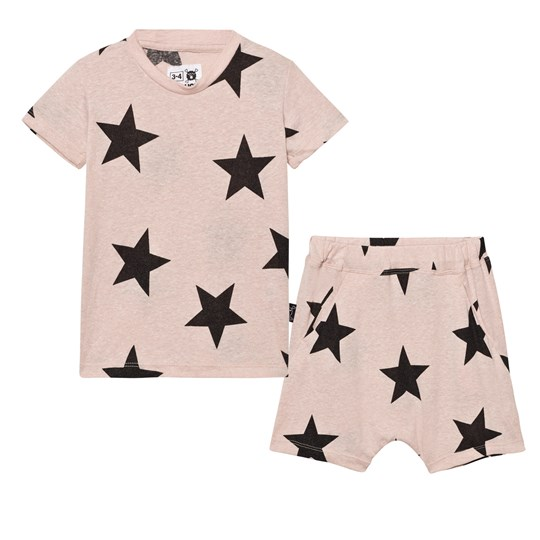NUNUNU Short Star Loungewear Powder Pink Powder Pink