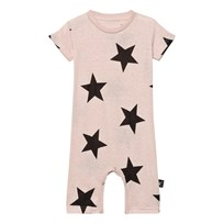NUNUNU Star Playsuit Powder Pink Powder Pink