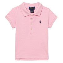 Ralph Lauren Pink Classic Polo with Small PP 006
