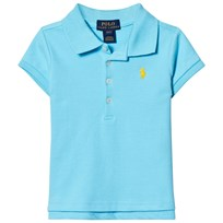 Ralph Lauren Short Sleeve Mesh Polo French Turquoise 004