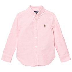 Ralph Lauren Pink Oxford Shirt with PP