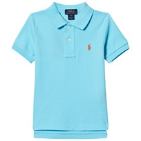 Ralph Lauren Cotton Mesh Polo Shirt French Turquoise 012