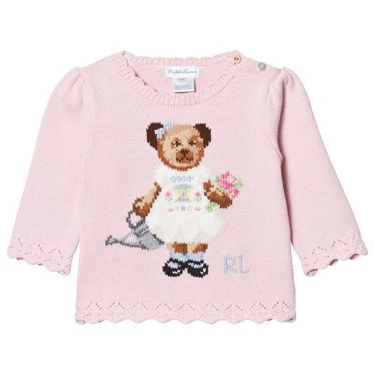 Ralph Lauren Pink Bear Jumper 001
