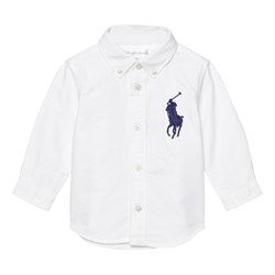 Ralph Lauren Oxford Skjorta Big Pony Vit