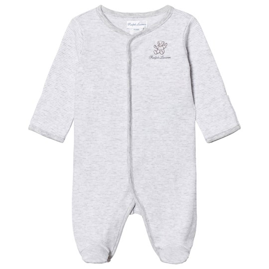 Ralph Lauren Randig Sparkdräkt Grey Heather Multi 001