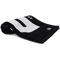 DKNY Branded Towel Black