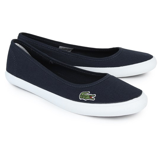 Lacoste Navy Marthe Slip On Shoes Navy