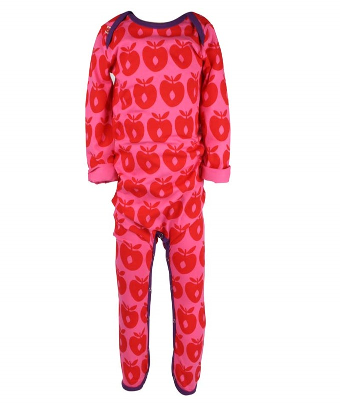Suit Apples Pink