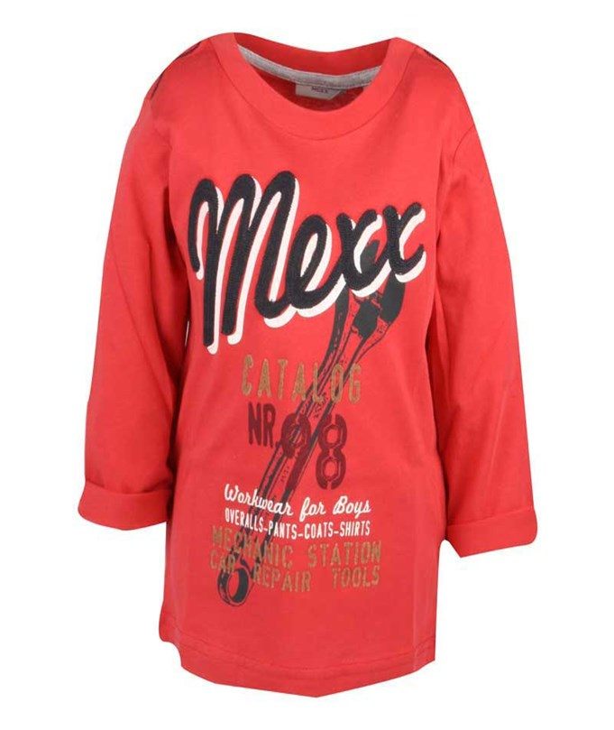 T-shirt L/S Promo Red